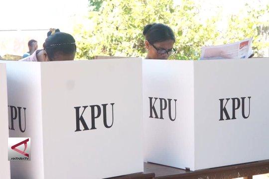 Partisipasi PSU di Kota Jayapura capai 50 persen