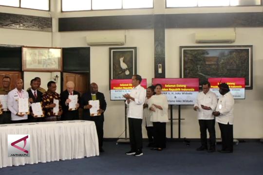 Presiden Jokowi perintahkan pemulihan cagar alam cycloop