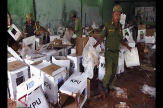 KPU ganti logistik pemilurusak Ciseeng