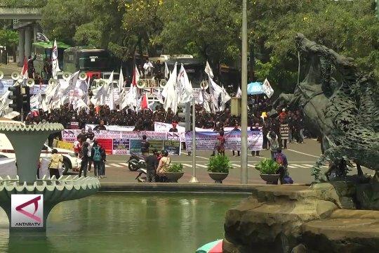Wapres JK pesan, perayaan hari buruh berjalan tertib