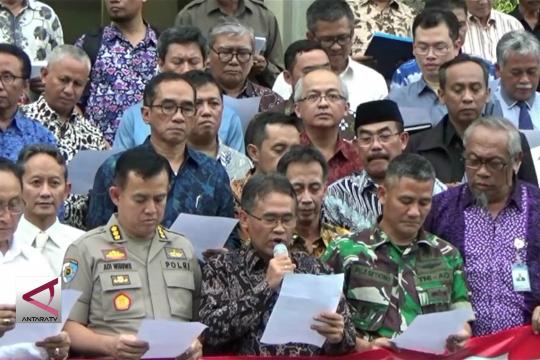 Sivitas akademika Yogyakarta deklarasikan pemilu jurdil dan damai