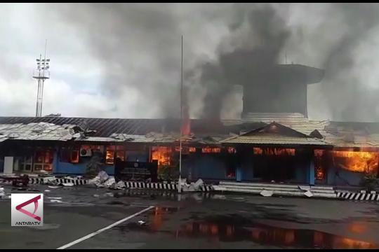 Kebakaran Bandara Nabire tidak ganggu aktivitas penerbangan