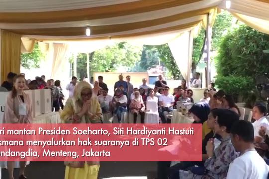 Harapan Tutut Soeharto untuk presiden terpilih