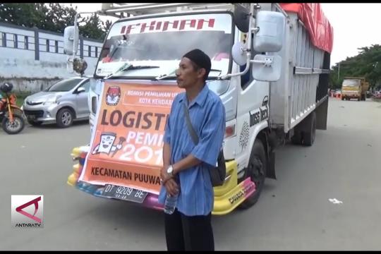 Distribusi logistik pemilu libatkan pawang hujan