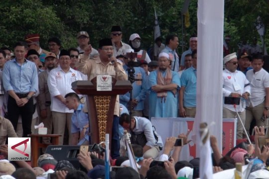Prabowo apresiasi sikap netral TNI dan Polri