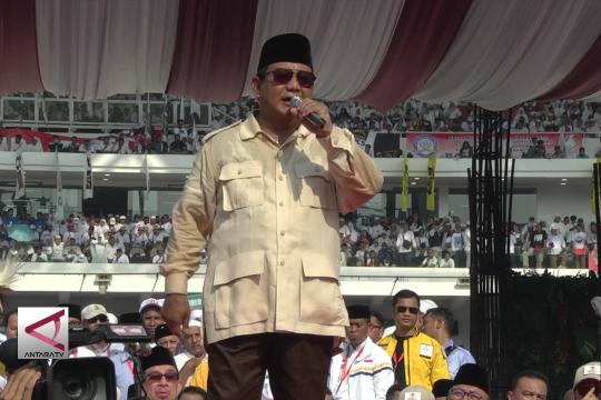 Prabowo janji turunkan harga listrik dalam seratus hari kerja