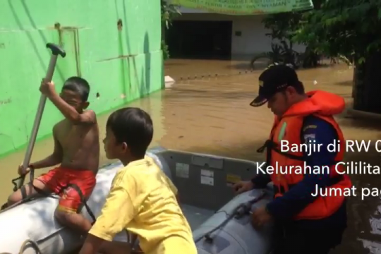 Banjir rendam sebagian wilayah Jakarta Timur