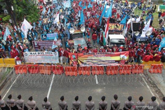 Polda Metro Jaya selidiki aksi vandalisme saat May Day 2019
