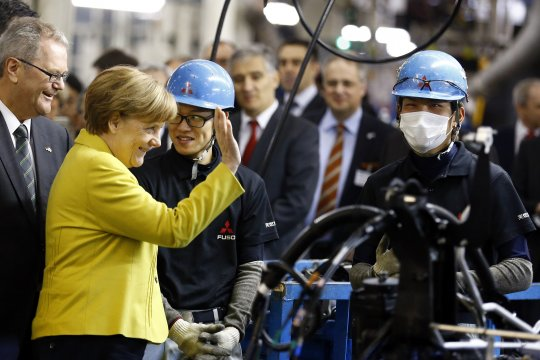 Dalam 14 tahun pasar tenaga kerja di Jerman terus tumbuh