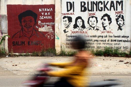 Mural aktivis buruh