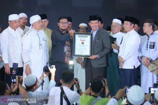 "Aplikasi ""Si Abuh"" Palembang pecahkan rekor MURI"