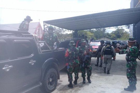 Tim jemput paksa logistik pemilu mulai turun ke distrik
