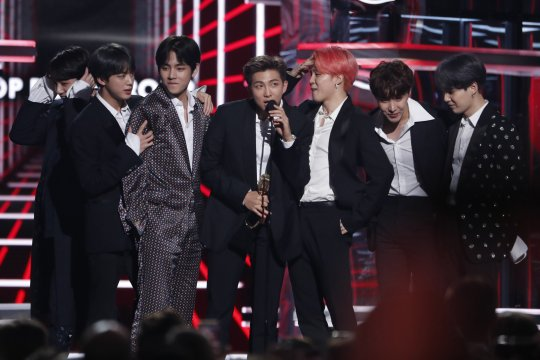 BTS jadi Top Social Artist Billboard Music Awards lagi