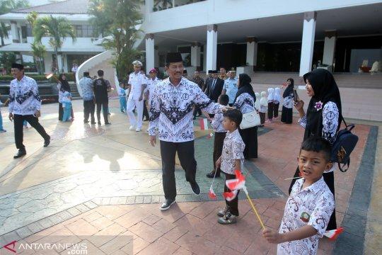 Festival Hari Pendidikan di Batam lestarikan permainan tradisional