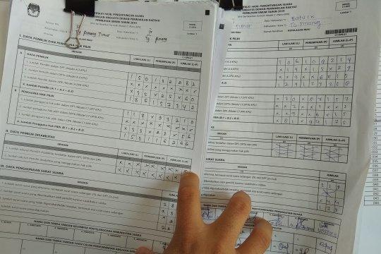 KPU Tanjungpinang akhirnya serahkan fotokopi Formulir C1