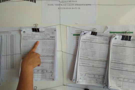 Di Tanjungpinang, PTPS belum terima salinan formulir C1 50 TPS