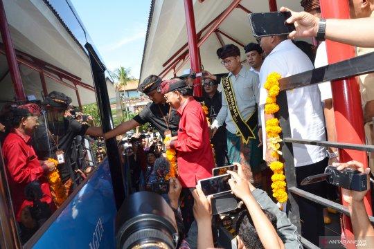Koster buka kembali operasional Trans-Sarbagita di Bandara Ngurah Rai