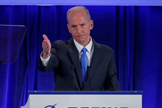 CEO Boeing berharap pesawat 737 Max terbang kembali akhir tahun