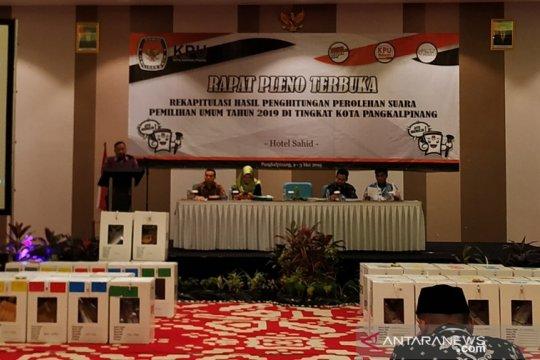 118 personel Polres Pangkalpinang amankan rapat pleno pemilu