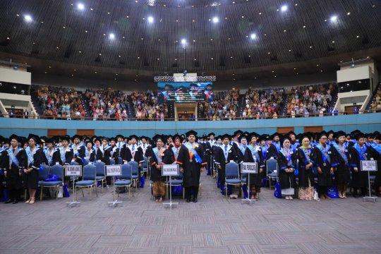 Universitas Pancasila telah meluluskan 59.035 sarjana