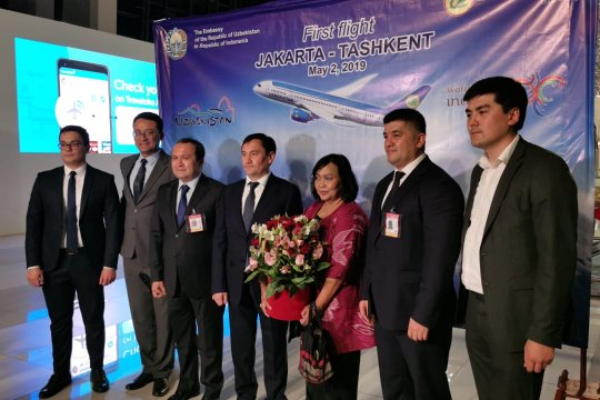 Uzbekistan Airways resmi terbangi rute Tashkent-Jakarta