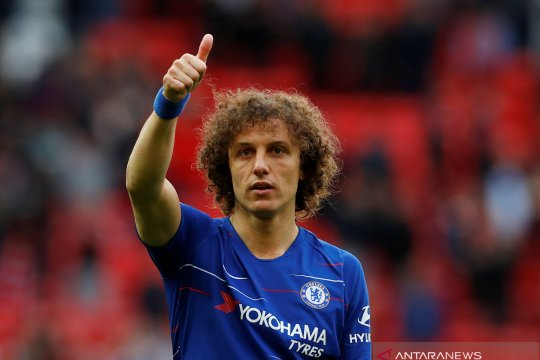 Chelsea bicarakan perpanjangan kontrak David Luiz