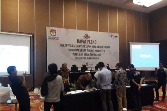 Jokowi-Amin raih 63.320 suara di Kabupaten Bangka Tengah