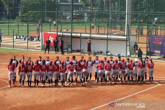 Timnas sofbol putri jalani pelatihan desentralisasi selama Ramadhan