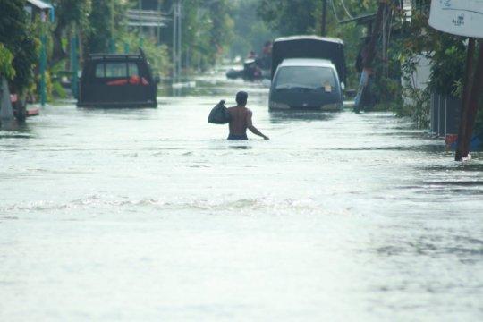 Jalur arah Gresik Selatan ditutup akibat banjir