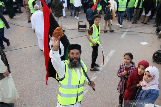 Macron ingin temui Komandan Haftar Libya untuk desak genjatan senjata