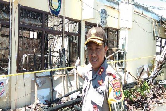 Puslabfor Polri turun selidiki kebakaran Mapolres Lampung Selatan