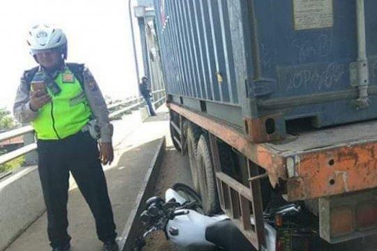 Polisi ini relakan motor dinasnya cegah kecelakaan lalu-lintas