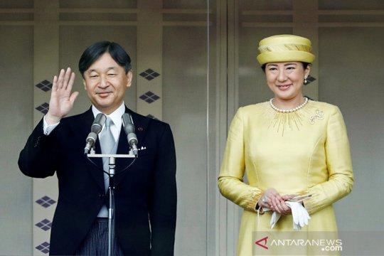 Kaisar Jepang Naruhito mulai upacara penobatan