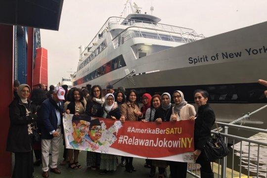 Relawan Jokowi New York tasyakuran dan penggalangan dana