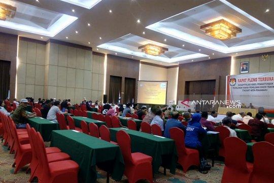 KPU Pekanbaru sahkan perolehan suara tujuh kecamatan
