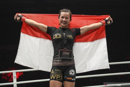 One Championship: Petarung perempuan Indonesia kalahkan petarung Kamboja