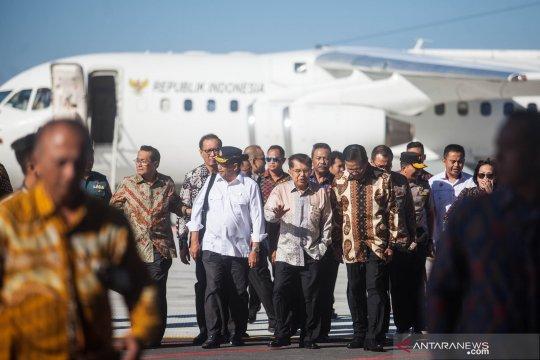Wapres Jusuf Kalla tinjau kesiapan Bandara Internasional Yogyakarta