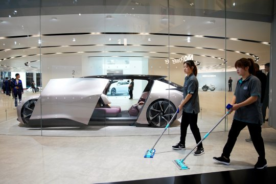 Produsen otomotif Korsel minta subsidi mobil listrik China dihentikan