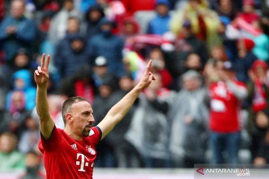 Franck Ribery tinggalkan Bayern Munchen akhir musim ini