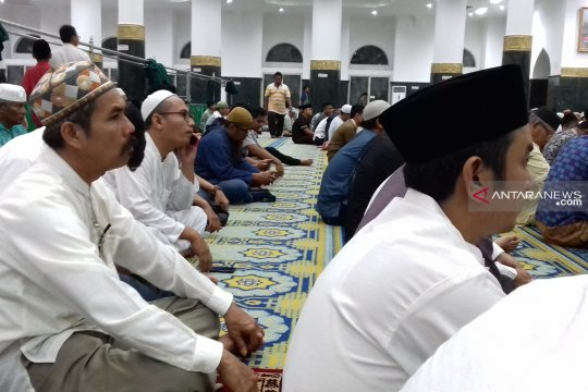 Malam takbiran dipusatkan di Masjid Arrahman Pekanbaru