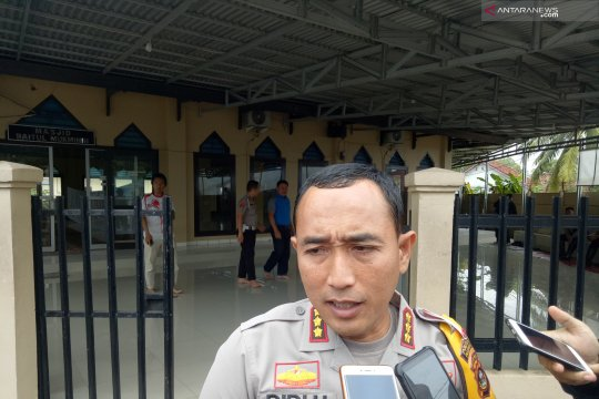 Polisi amankan lima dari 30 tahanan kabur di Palembang