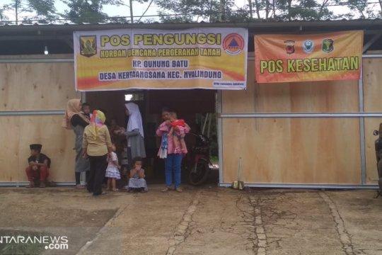 Tanggap darurat pergeseran tanah di Gunungbatu Sukabumi dicabut