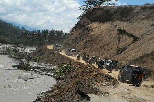 Komnas-HAM : bangun kembali jalan trans Palu-Kulawi pascabanjir Sigi