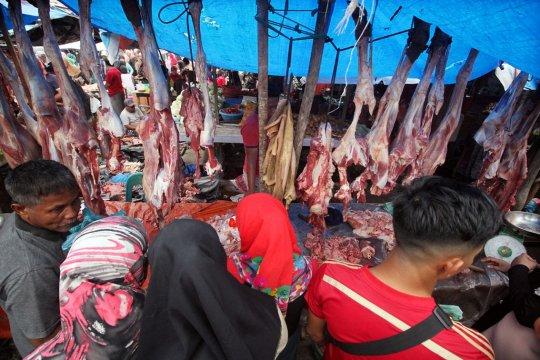 """Berburu daging """"meugang"""" tradisi sambut Ramadhan di Aceh"""