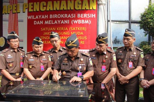 JAM Pidsus Kejagung canangkan zona WBBM