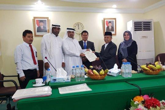 Kontrak layanan transportasi jamaah haji ditandatangani