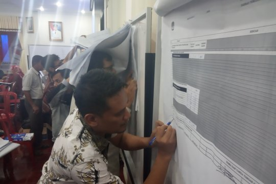 Prabowo-Sandi menang telak di seluruh kecamatan di Agam