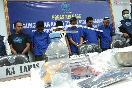 BNNP Sultra ungkap enam pelaku tindak pidana narkotika