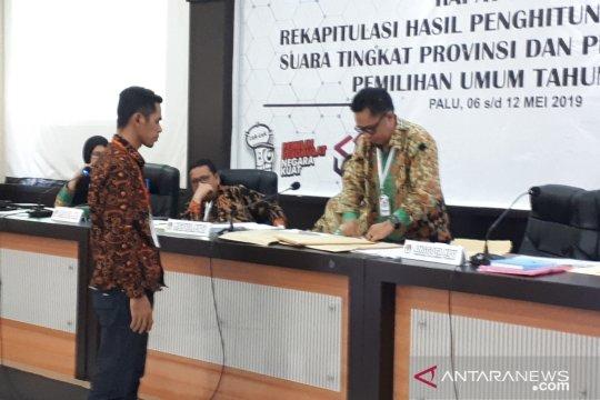KPU Sulteng: Rekapitulasi suara di sejumlah daerah masih berlangsung