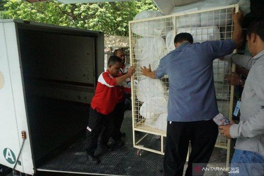 Pengiriman logistik pemungutan suara ulang di Kuala Lumpur